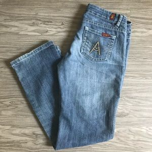 7 For All Mankind A Pocket Jeans Boot Cut Low Rise